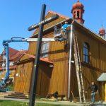 Malowanie wieży kościelnej